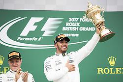 July 16, 2017 - Silverstone, Great Britain - Motorsports: FIA Formula One World Championship 2017, Grand Prix of Great Britain, .#77 Valtteri Bottas (FIN, Mercedes AMG Petronas F1 Team), #44 Lewis Hamilton (GBR, Mercedes AMG Petronas F1 Team) (Credit Image: © Hoch Zwei via ZUMA Wire)