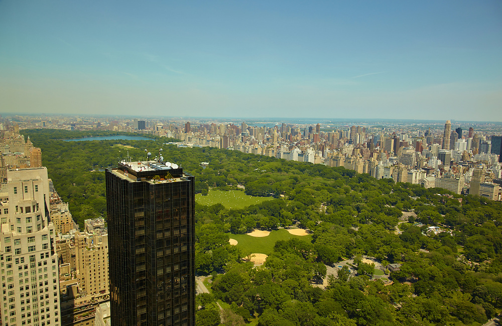 View of Central Park from 25 Columbus Circle, 78th floor