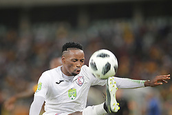 21042018 (Durban) FS Stars Player Sinethember Jantjie when Kaizer Chiefs takes on Free State Stars in the first Semi-Final at the Moses Mabhida Stadium On Saturday evening. FreeState let the way with a lead of 2-0 before halftime<br /> Picture: Motshwari Mofokeng/ANA