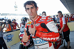 01.05.2010, Motomondiale, Jerez de la Frontera, ESP, MotoGP, Race, im Bild Julian Simon - Mapfre Aspar team. EXPA Pictures © 2010, PhotoCredit: EXPA/ InsideFoto / SPORTIDA PHOTO AGENCY