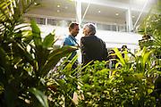 September 18-21, 2014 : Singapore Formula One Grand Prix - Bernie Ecclestone, Christian Horner, team principal of Red Bull Racing