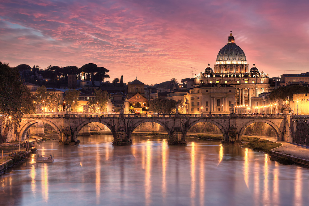 St. Peter's Basilica is a Late Renaissance church located within Vatican City. Designed principally by Donato Bramante, Michelangelo, Carlo Maderno and Gian Lorenzo Bernini, St. Peter's is the most renowned work of Renaissance architecture and remains one of the largest churches in the world.