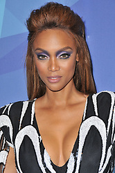 "Tyra Banks at the NBC ""America's Got Talent"" Season 12 Live Show held at the Dolby Theater in Hollywood, CA on Tuesday, August 22, 2017. (Photo By Sthanlee B. Mirador/Sipa USA)"
