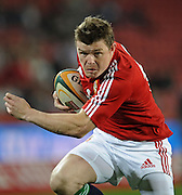 Captain of the British&Irish Lions, Brian O'Driscoll charging with the ball.<br /> Rugby - 090602 - British&Irish Lions v Xerox Lions - Coca-Cola Park - Johannesburg - South Africa. The British Lions won 74-10 scoring 10 tries.<br /> Photographer : Anton de Villiers / SASPA