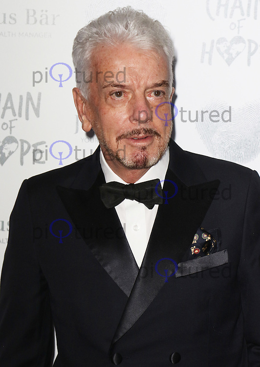 Nicholas Haslam, Chain of Hope Gala Ball, Grosvenor House, London UK, 20 November 2015, Photo by Brett D. Cove