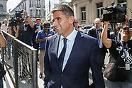 Raul Sendic en el Juzgado por tarjetas de ANCAP