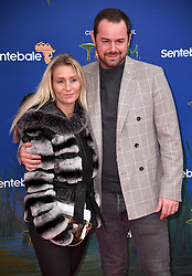 Danny Dyer and Joanne Mas attending the Cirque Du Soleil Totem premiere at the Royal Albert Hall, London. Photo credit should read: Doug Peters/EMPICS