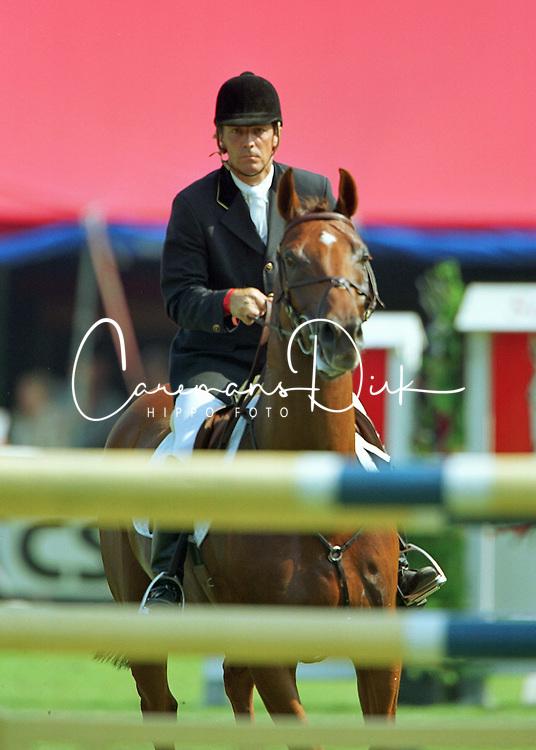 Coumans Gabriel<br />KWPN Paardendagen 2001<br />Photo &copy; Dirk Caremans