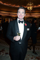 COL.DAN HUGHES at Fashion For The Brave at The Dorchester, Park Lane, London on 8th November 2013.
