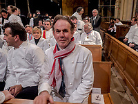 Paul Bocuse's funeral took place in the cathedral St Jean, Lyon.<br /> Thomas Keller, american chef