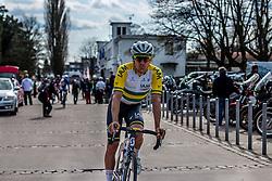 Heinrich Haussler (AUS) of IAM Cycling, Velodrome Roubaix, Paris-Roubaix, UCI WorldTour, France, 12 April 2015, Photo by Pim Nijland / PelotonPhotos.com