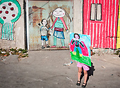 "suburb kids landscape in ""Borgo Vecchio"""