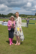 LIZ HIGGINS; CHRISTINA JESAITIS, The Veuve Clicquot Gold Cup Final.<br /> Cowdray Park Polo Club, Midhurst, , West Sussex. 15 July 2012.