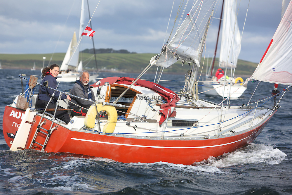 The Scottish Two Handed Race as part of Largs Regatta Week.<br /> <br /> Auk,  Erica Reevie,  Class 4<br /> <br /> Image Credit Marc Turner