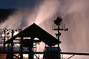 EFI FILE PHOTO - Nubs Nob snow guns running at night.