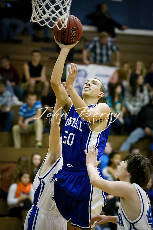 December/13/12:  MCHS JV Boys Basketball vs Central Woodstock.  Madison wins 49-39.