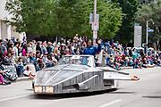 NASA Astronaut Dr. Jeanette Epps was the Grand Marshall of the parade.