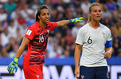 France's Sarah Bouhaddi during FIFA Women's World Cup France group A match France v Brazil on June 23, 2019 in Le Havre, France. France won 2-1 after extra time reaching quarter-finals. Photo by Christian Liewig/ABACAPRESS.COM