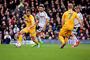 Preston North End defender Tommy Spurr (17) controlling the ball during the EFL Sky Bet Championship match between Fulham and Preston North End at Craven Cottage, London, England on 4 March 2017. Photo by Matthew Redman.