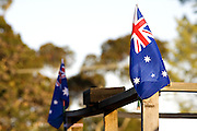 Flags of our nation, ANZAC Day, Hobart Tasmania