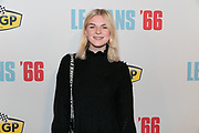 2019. November 13. Pathe ArenA, the Netherlands. Femke Meines at the dutch premiere of Le Mans 66.
