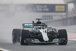 March 1, 2018 - Barcelona, Spain - BOTTAS Valtteri (fin), Mercedes AMG F1 Petronas GP W09 Hybrid EQ Power+, action during Formula 1 winter tests 2018 at Barcelona, Spain from February 26 to March 01 - Photo Florent Gooden / DPPI  (Credit Image: © Hoch Zwei via ZUMA Wire)
