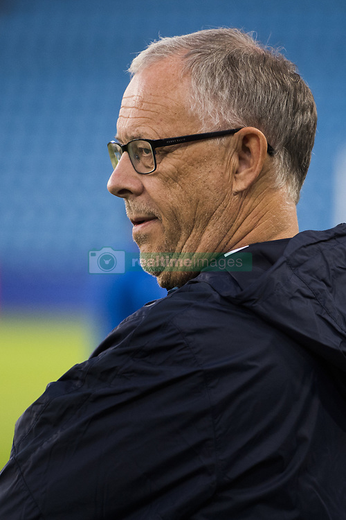 September 1, 2017 - Oslo, NORWAY - 170901 Lars LagerbÅck, head coach of Norway, ahead of the FIFA World Cup Qualifier match between Norway and Azerbaijan on September 1, 2017 in Oslo..Photo: Jon Olav Nesvold / BILDBYRN / kod JE / 150000 (Credit Image: © Jon Olav Nesvold/Bildbyran via ZUMA Wire)