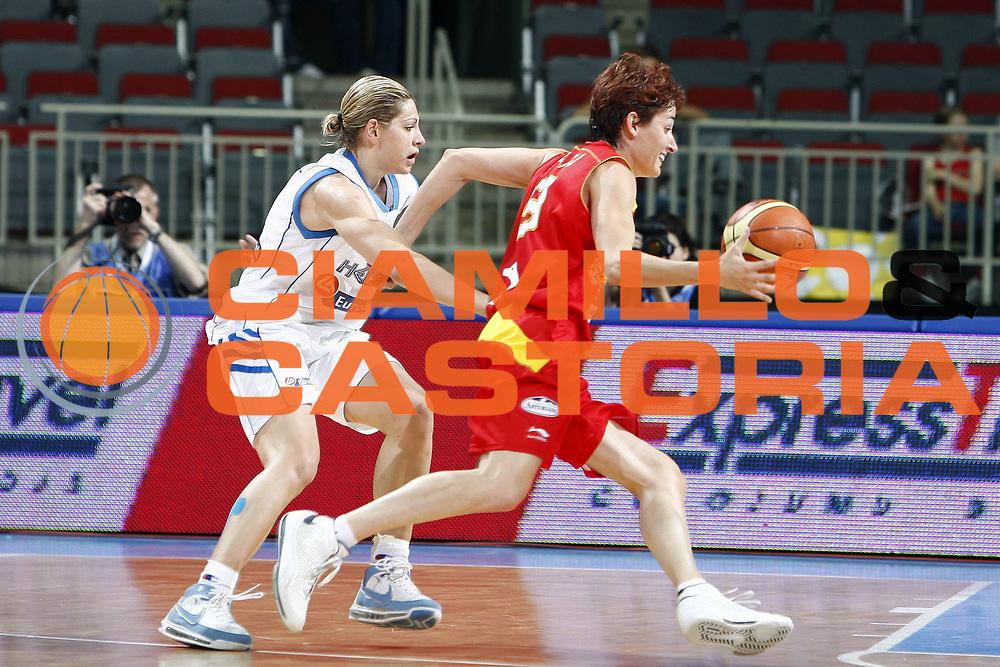 DESCRIZIONE : Riga Latvia Lettonia Eurobasket Women 2009 Qualifying Round Grecia Greece<br /> GIOCATORE : Laia Palau<br /> SQUADRA : Spagna Spain<br /> EVENTO : Eurobasket Women 2009 Campionati Europei Donne 2009 <br /> GARA : Grecia Spagna Greece Spain<br /> DATA : 11/06/2009 <br /> CATEGORIA : palleggio<br /> SPORT : Pallacanestro <br /> AUTORE : Agenzia Ciamillo-Castoria/E.Castoria<br /> Galleria : Eurobasket Women 2009 <br /> Fotonotizia : Riga Latvia Lettonia Eurobasket Women 2009 Qualifying Round Grecia Spagna Greece Spain<br /> Predefinita :