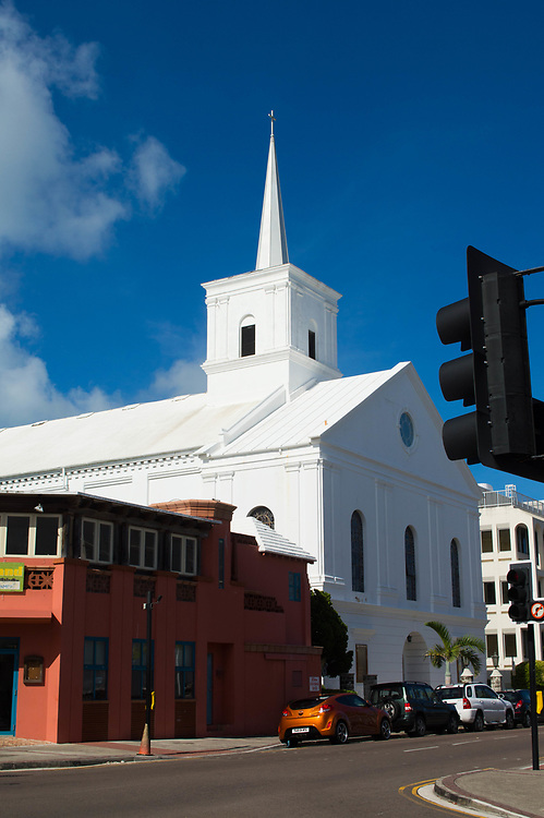 Church in Hamilton, Bermuda, July 19, 2017. (©2017 Wendelin Ray Photography)