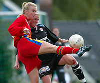Fotball NM semifinale kvinner. Røa - Arna-Bjørnar 1-3. Kristine Rand Edner, Røa.<br /> <br /> Foto: Andreas Fadum, Digitalsport