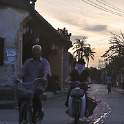 Dawn in Hoi An, Vietnam, a few kilometers from the Nam Hai resort.