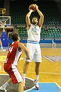 DESCRIZIONE : Cipro European Basketball Tour Italia Polonia Italy Poland<br /> GIOCATORE : Andrea Bargnani<br /> CATEGORIA : Tiro<br /> SQUADRA : Nazionale Italia Uomini <br /> EVENTO : European Basketball Tour <br /> GARA : Italia Polonia <br /> DATA : 07/08/2011 <br /> SPORT : Pallacanestro <br /> AUTORE : Agenzia Ciamillo-Castoria/GiulioCiamillo<br /> Galleria : Fip Nazionali 2011 <br /> Fotonotizia :  Cipro European Basketball Tour Italia Polonia Italy Poland<br /> Predefinita :