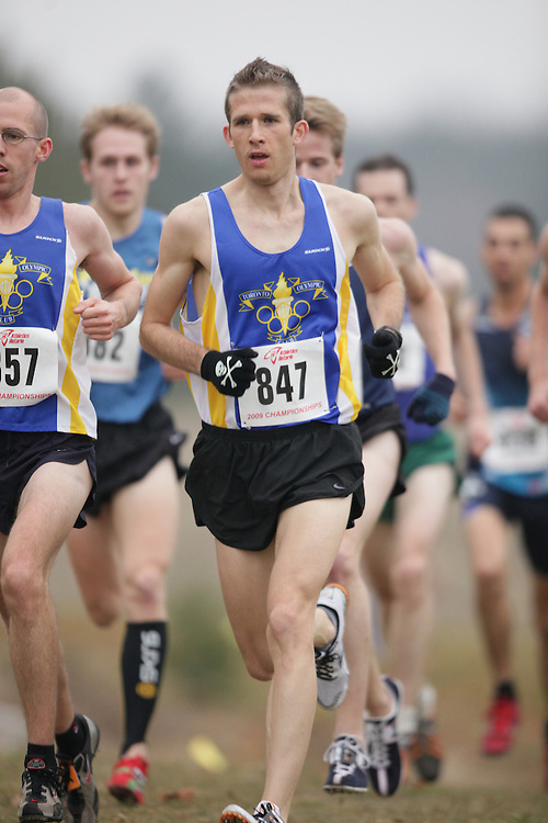 King City, Ontario ---09-11-15--- Adam Hortian of the toronto olympic club competes at the Athletics Ontario Cross Country Championships in King City, Ontario, November 16, 2009..GEOFF ROBINS Mundo Sport Images