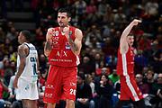 Cianciarini Andrea<br /> A X Armani Exchange Olimpia Milano - Pallacanestro Cantu<br /> Basket Serie A LBA 2019/2020<br /> Milano 05 January 2020<br /> Foto Mattia Ozbot / Ciamillo-Castoria