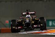 November 21-23, 2014 : Abu Dhabi Grand Prix. Romain Grosjean (FRA), Lotus-Renault