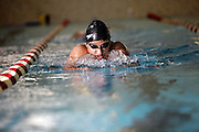 SCOTT MORGAN | ROCKFORD REGISTER STAR.Auburn High School's Kate Paige swims Wednesday, Oct. 14, 2009, during practice at Auburn in Rockford.
