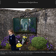 "Screengrab of ""Tuam Children's Grave Yard"" published in The New York Times"