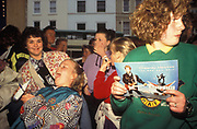 Fans Waiting for Chesney Hawkes, Nottingham 1991