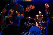 The Breaks performing at Ciceros's in Saint Louis, Missouri. June 11th, 2011.