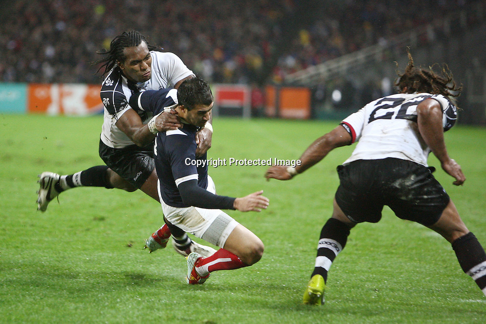 Rugby : France / Fidji - Test Match Tournee d Automne - 13.11.2010 - Jerome Porical (France) *** Local Caption *** 00042416