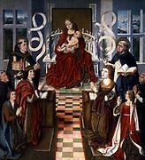 La Virgen de los Reyes Católicos (anonyme, Musée du Prado)