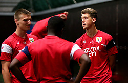 Aaron Parsons and Harvey Smith chat as Bristol City Under 23's return to training with fitness testing ahead of the 2017/18 season - Mandatory by-line: Robbie Stephenson/JMP - 30/06/2017 - FOOTBALL - SGS Wise Campus - Bristol, United Kingdom - Bristol City Under 23's Fitness Tests
