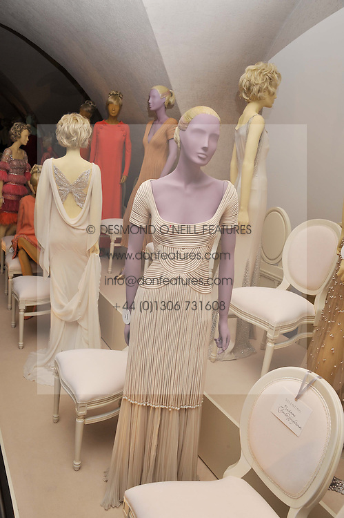 Atmosphere at a private view of 'Valentino: Master Of Couture' at Somerset House, London on 28th November 2012.
