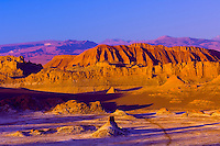 Moon Valley (Valle de la Luna), Salt Mountain Range, Atacama Desert, Chile