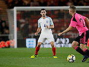 Lewis Cook of England during the U21 UEFA EURO first qualifying round match between England and Scotland at the Riverside Stadium, Middlesbrough, England on 6 October 2017. Photo by Paul Thompson.