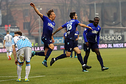 "GOAL LUIS ALBERTO (LAZIO)Foto Filippo Rubin<br /> 06/01/2018 Ferrara (Italia)<br /> Sport Calcio<br /> Spal - Lazio - Campionato di calcio Serie A 2017/2018 - Stadio ""Paolo Mazza""<br /> Nella foto: GOAL LUIS ALBERTO (LAZIO)<br /> <br /> Photo by Filippo Rubin<br /> January 06, 2018 Ferrara (Italy)<br /> Sport Soccer<br /> Spal vs Lazio - Italian Football Championship League A 2017/2018 - ""Paolo Mazza"" Stadium <br /> In the pic: GOAL LUIS ALBERTO (LAZIO)"