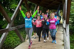 Garmin Run - Priprave na 22. Volkswagen  Ljubljanski maraton 2017, on October 14, 2017 in Mostec, Ljubljana, Slovenia. Photo by Vid Ponikvar / Sportida