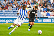 Adama Diakhaby of Huddersfield Town (11) in action during the EFL Sky Bet Championship match between Huddersfield Town and Derby County at the John Smiths Stadium, Huddersfield, England on 5 August 2019.