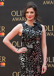 Janie Dee arriving for The Olivier Awards at the Royal Albert Hall in London.