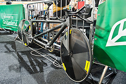 Behind the scenes, , Tandem 4km Pursuit Qualifiers , 2015 UCI Para-Cycling Track World Championships, Apeldoorn, Netherlands